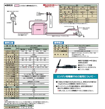 ダイヘン TIG溶接機 TIGミニ 200P2