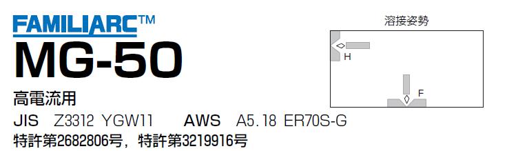 神戸製鋼 ソリッド溶接ワイヤ MG-50