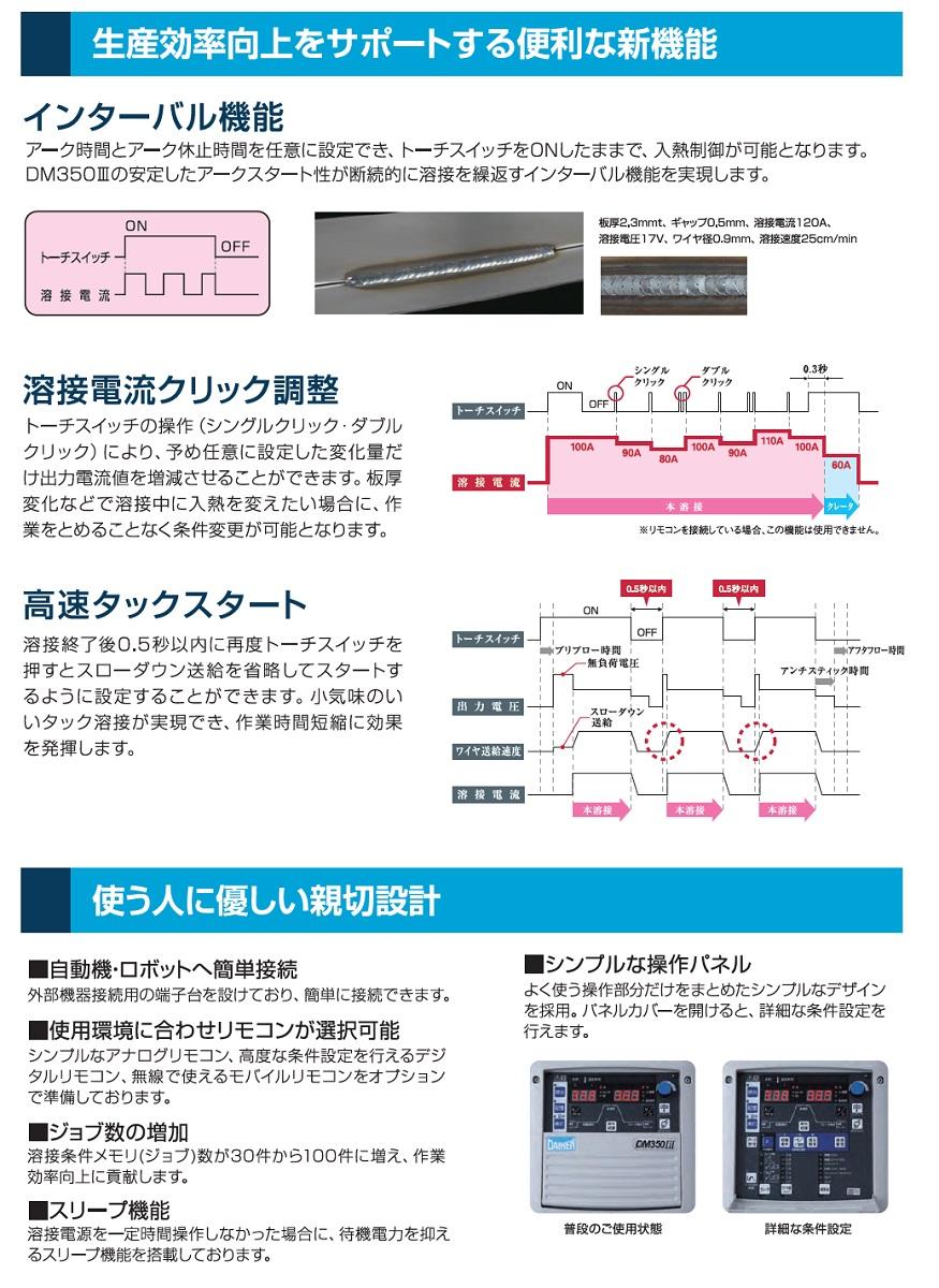 ダイヘンCO2溶接機 DM350-3